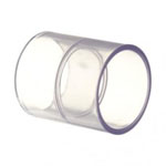 Clear PVC Coupling Fittings