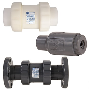Hayward True Union Ball Check Valve