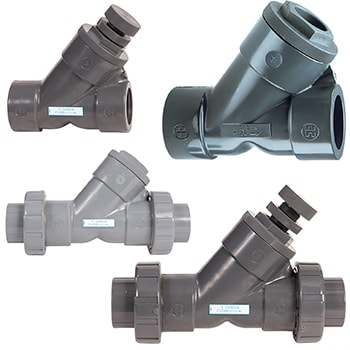 Hayward True Union Ball Y Check Valve