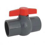Gray Socket Compact Ball Valves