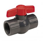 Gray Threaded Compact Ball Valves