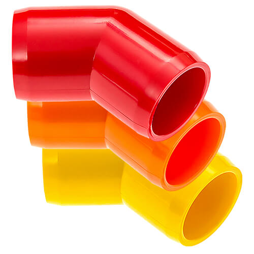 45 Elbow PVC Furniture Fittings