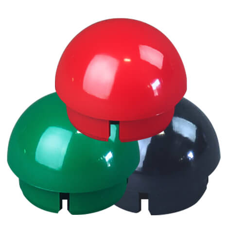 Ball Cap PVC Furniture Fittings