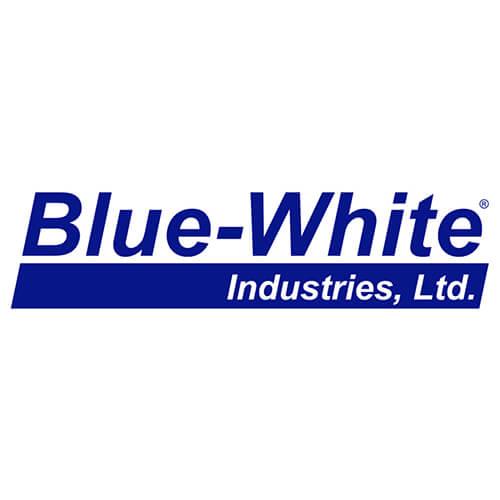 Blue White Flow Meters