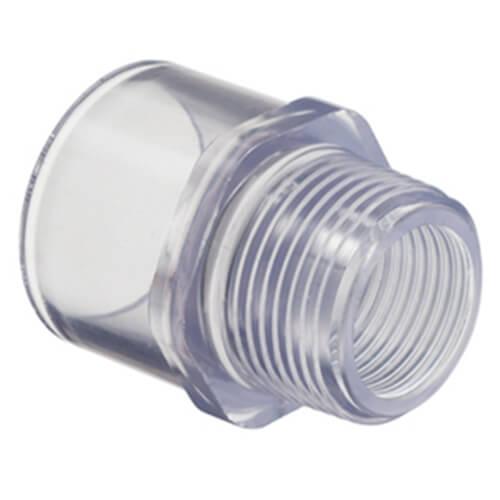 Clear PVC Adaptor Fittings
