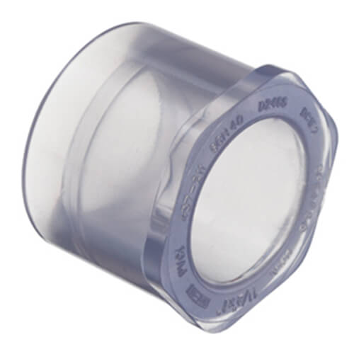 Clear PVC Bushing Fittings