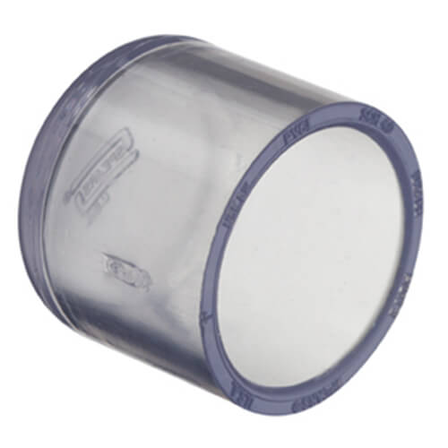 Clear PVC Cap Fittings