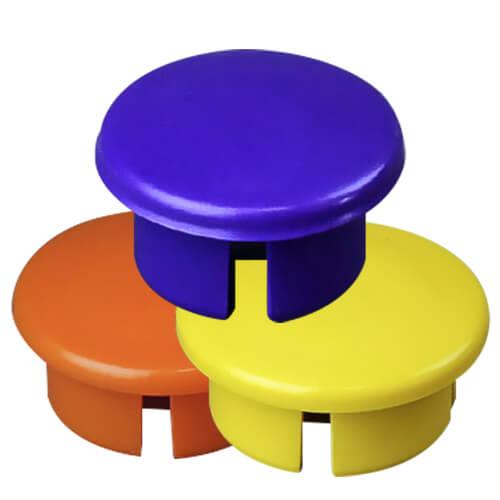 Dome Cap PVC Furniture Fittings