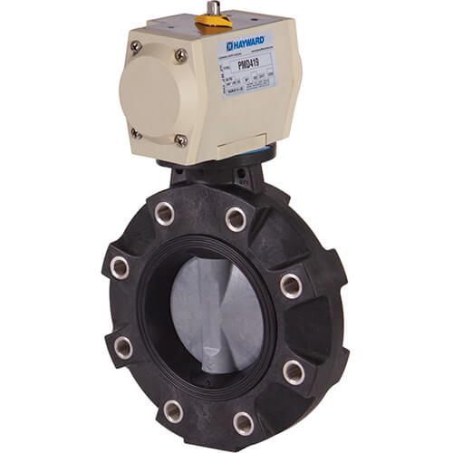 Hayward Actuator Ready Butterfly Valves