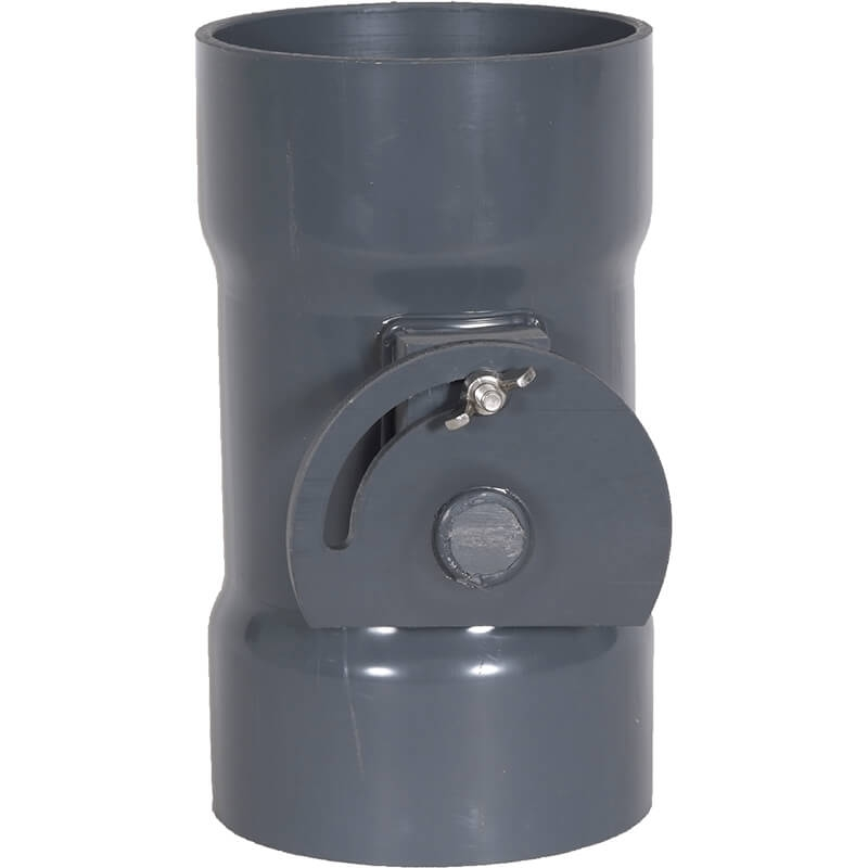 PVC Duct Actuated Butterfly Dampers