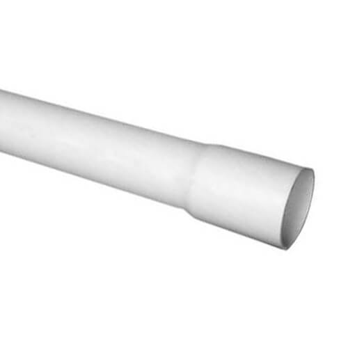 PVC Schedule 40 Bell End Pipe