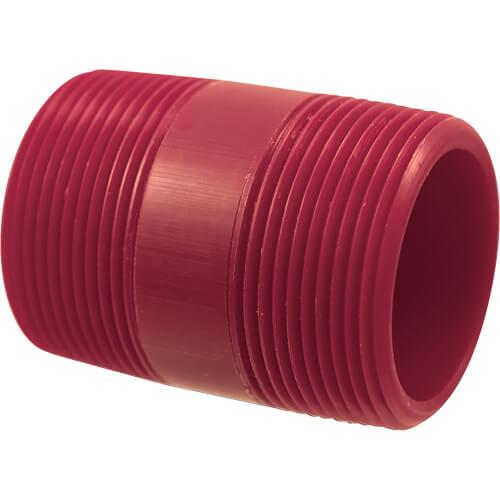 Red PVDF Tee