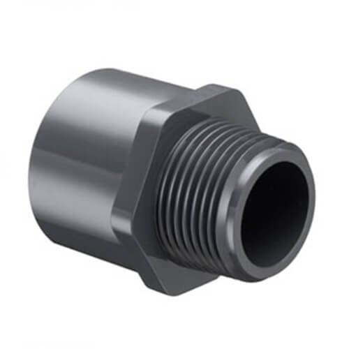 Schedule 80 PVC Male Adapters