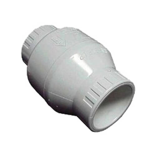 White Utility Swing Check Valves